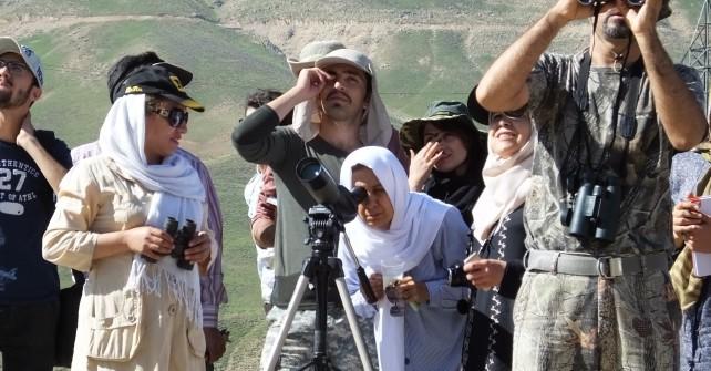 گزارش تصویری سفر آموزشی آشنایی با پرندگان-منطقه لار