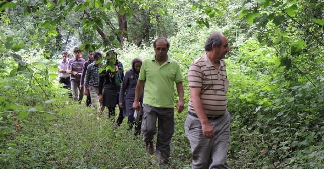 گزارش تصویری سفر آموزشی گیاهشناسی(منطقه هرزویل ،جنگل سراوان ، باغ گیاهشناسی کیاشهر)