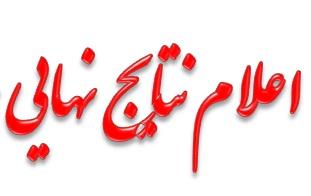 نمرات مصاحبه زبان بهمن ماه ۹۴ اعلام شد.
