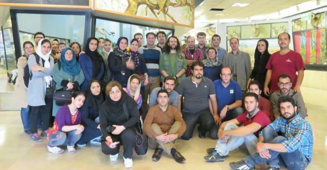 برگزاری تور بازدید از موزه تنوع زیستی پردیسان (دوره راهنمایان طبیعت گردی)