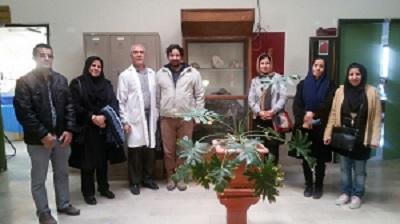 گزارش بازدید از آزمایشگاه زمین شناسی دانشگاه بین المللی امام خمینی