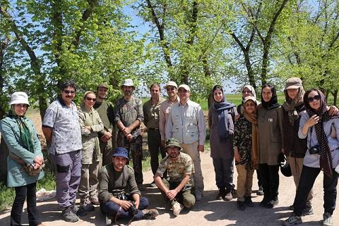 گزارش سفر آموزشی آشنایی با پرندگان- تالاب صالحیه