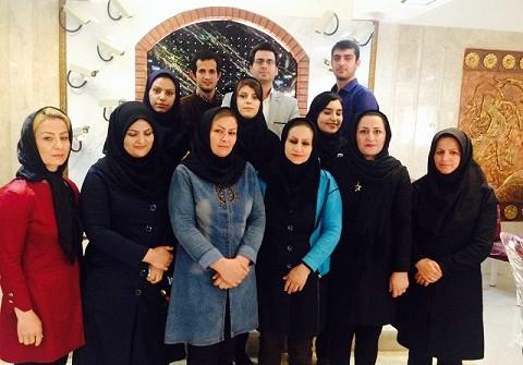 برگزاری دوره مقدماتی  میزبانی جهت پرسنل تالار پذیرایی قصر گلستان