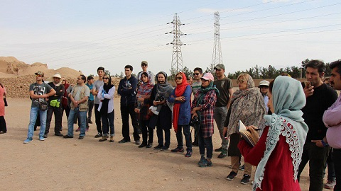 کلاس هفته آخر بهمن ماه دوره راهنمایان فرهنگی