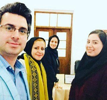 بازدید مدیرعامل موسسه  ازپروژه استقرار راهنمایان  بناهای تاریخی شهر قزوین