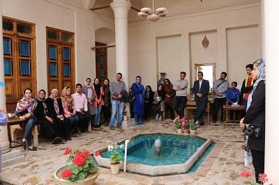 دیدار از خانه های تاریخی کاشان با حضور دکتر رضا نوری شادمهانی