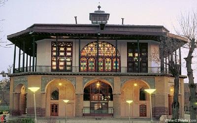 گذری بر دولتخانه صفوی قزوین