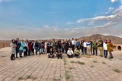 برگزاری تور آموزشی نجوم و رصد بارش شهابی در کاروانسرای هجیب