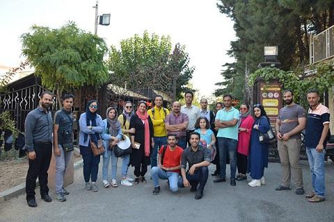 تور عملی بازدید از موزه دارآباد تهران با حضور دکتر کامران کمالی