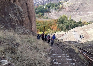 تور آموزشی بازدید از مسیرهای گردشگری الموت شرقی
