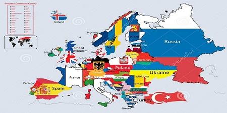 روحیات کشورهای اروپایی