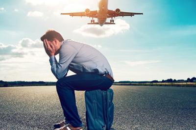چگونه از استرس خود در سفر هوایی بکاهیم