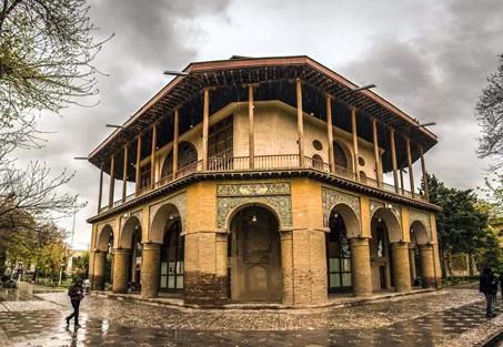 اولین های ایران در قزوین / اولین عمارت کلاه فرنگی ایران + تصاویر